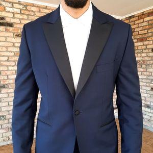 NEW Hardy Amies Tuxedo Dinner Jacket Blazer Wool